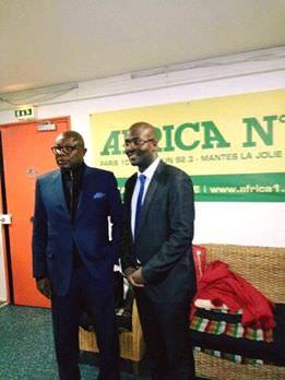 21 mars 2016-AFRICA N1-LE GRAND DEBAT- Pierre Claver Maganga Moussavou vs Cyrille Ona