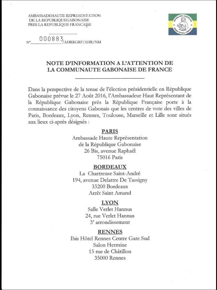 Les centres de votes en France-01
