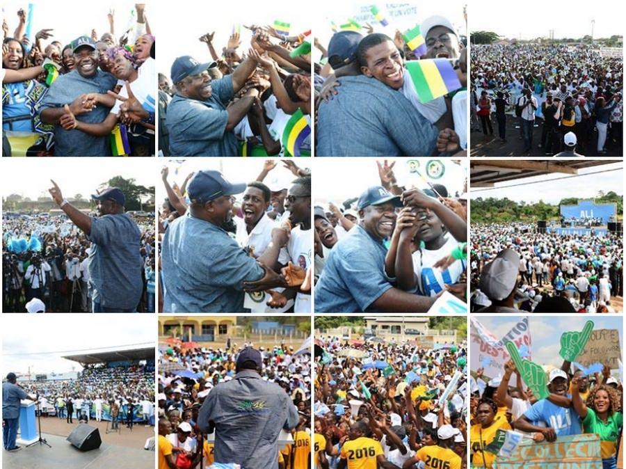 Ali Bongo Ondimba à la rencontre des populations d'Owendo