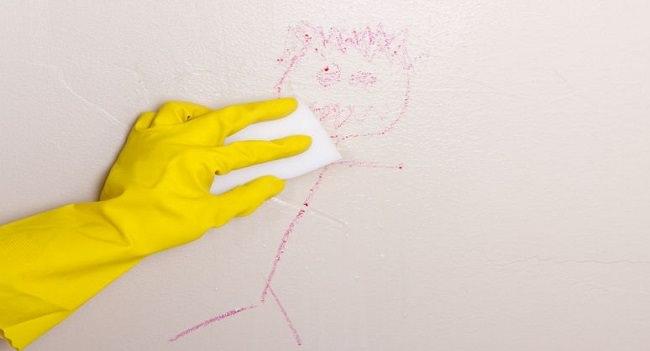 Trucs et astuces comment nettoyer un mur sale Nettoyer un mur peint