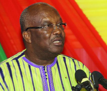 FORUM NATIONAL SUR LA SECURITE :  Le Président du Faso appelle à «un sursaut patriotique»